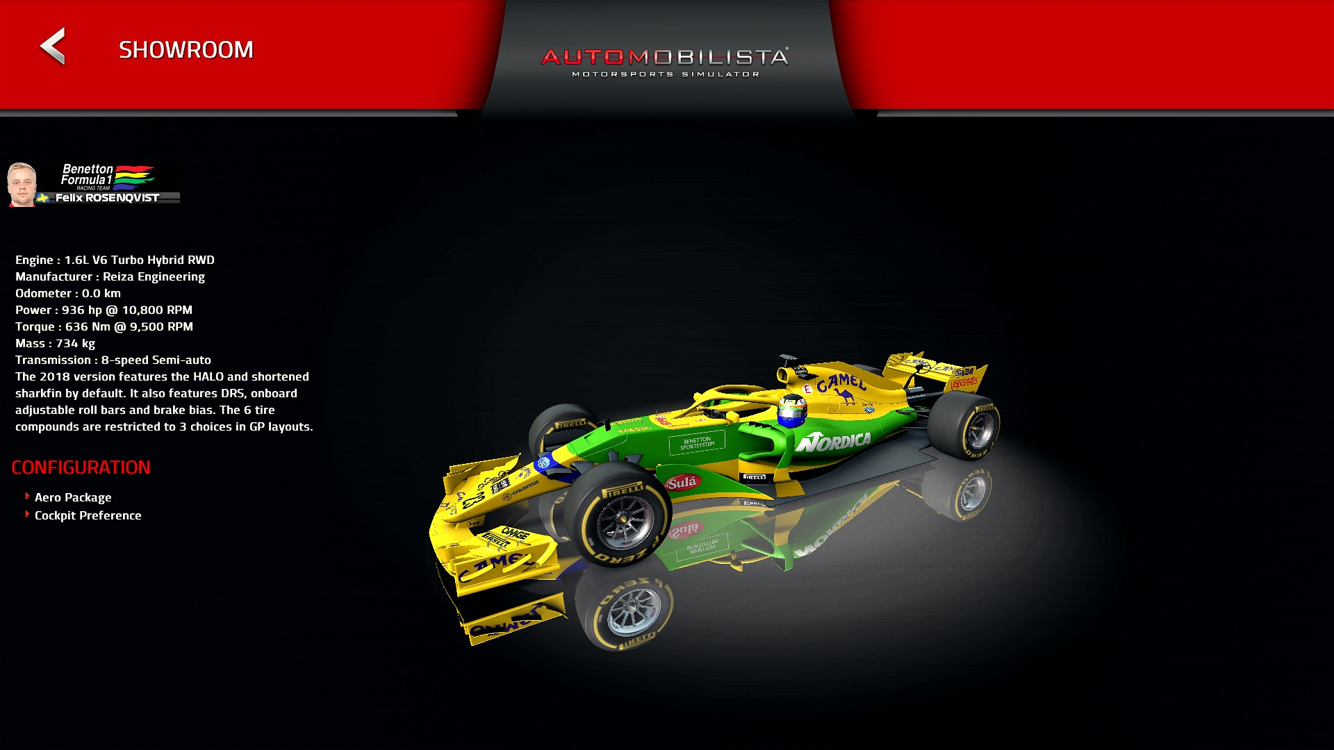 The Ultimate Collection - Camel Benetton Ford