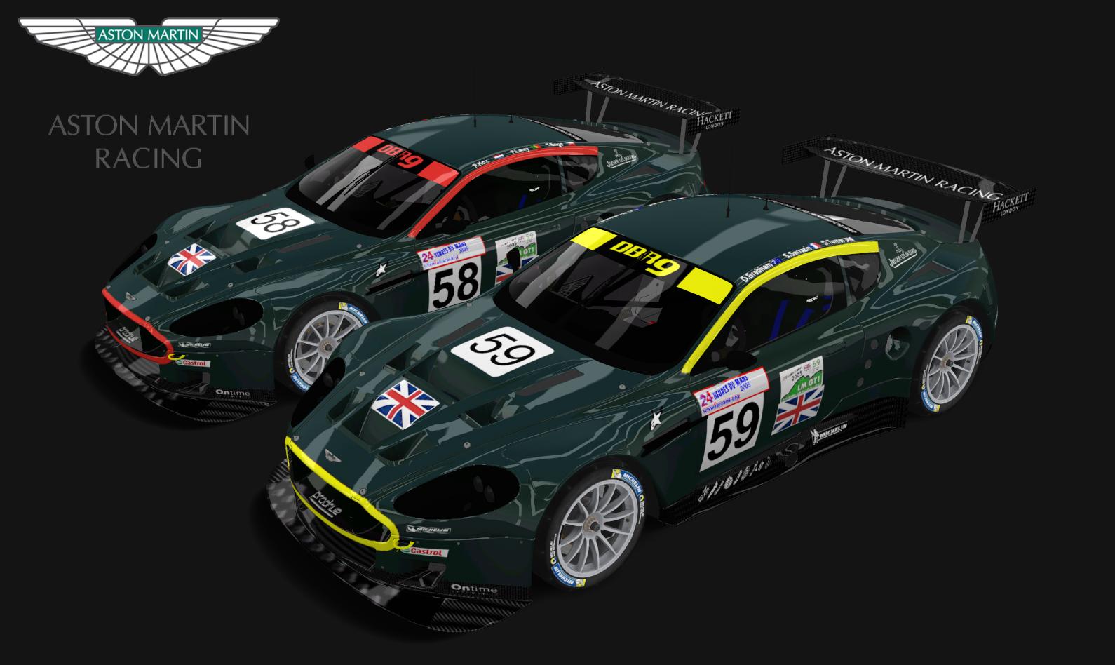 2005 Le Mans Aston Martin Racing Racedepartment