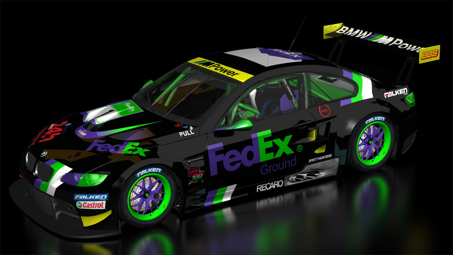 BMW GT2 Fedex Racing Team + Livery | RaceDepartment ...