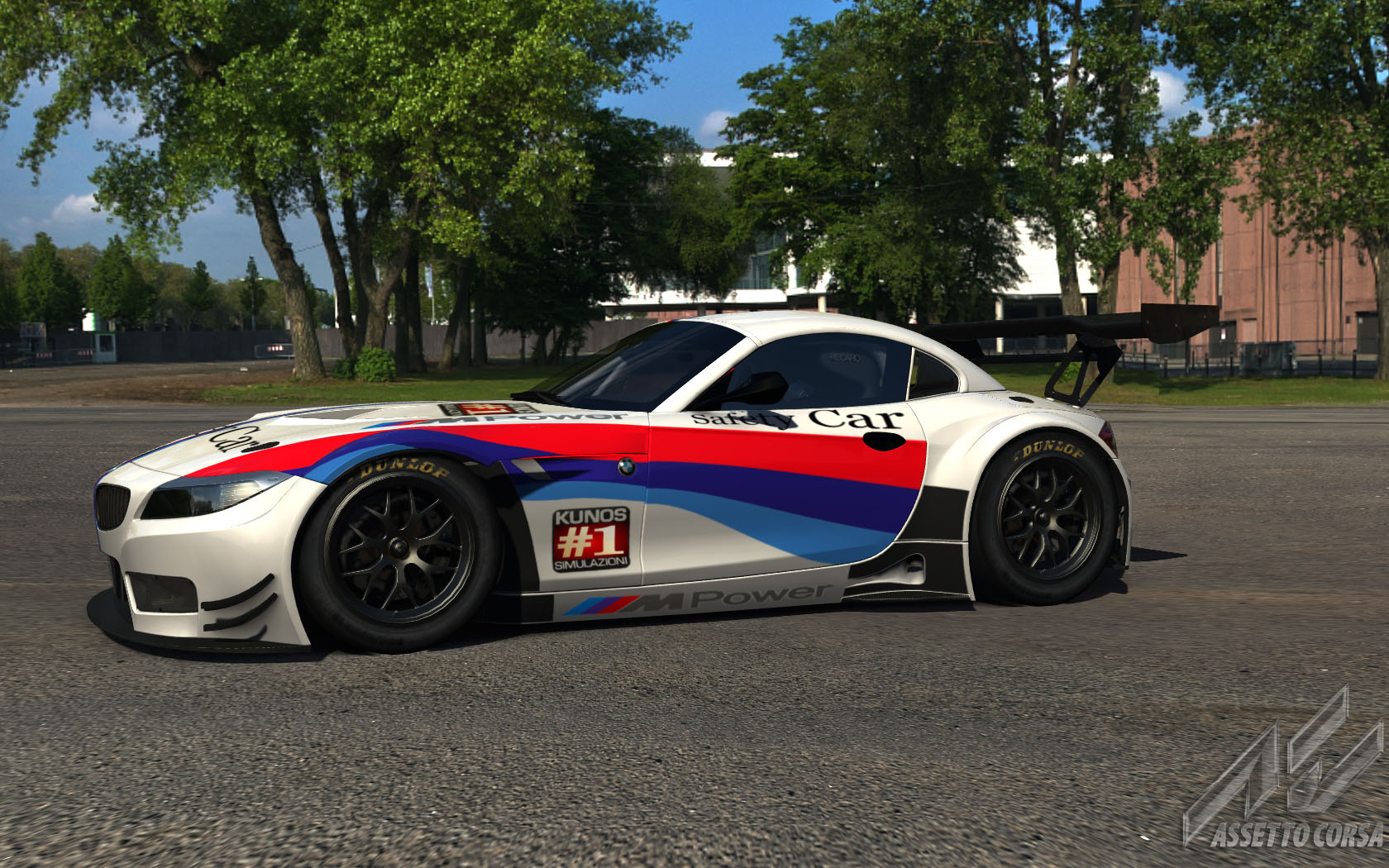 Bmw Z4 Gt3 Safety Car Racedepartment Latest Formula 1