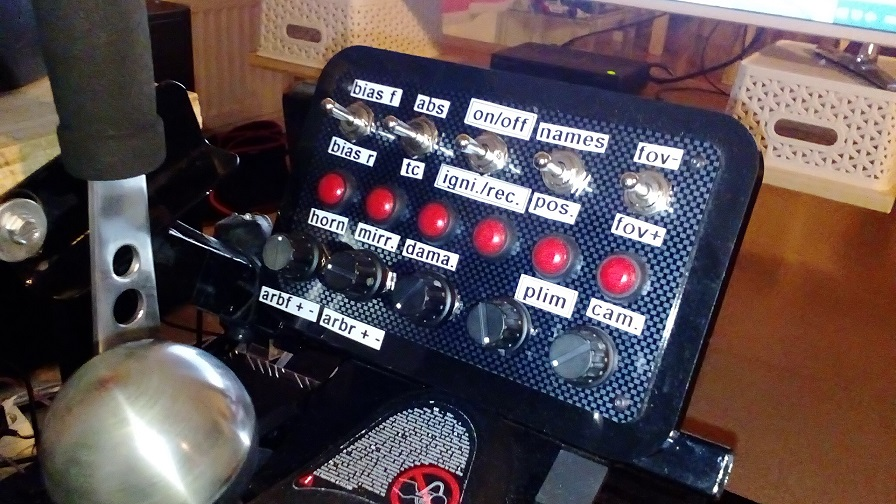 Button Panel use in AC? | RaceDepartment - Latest Formula 1
