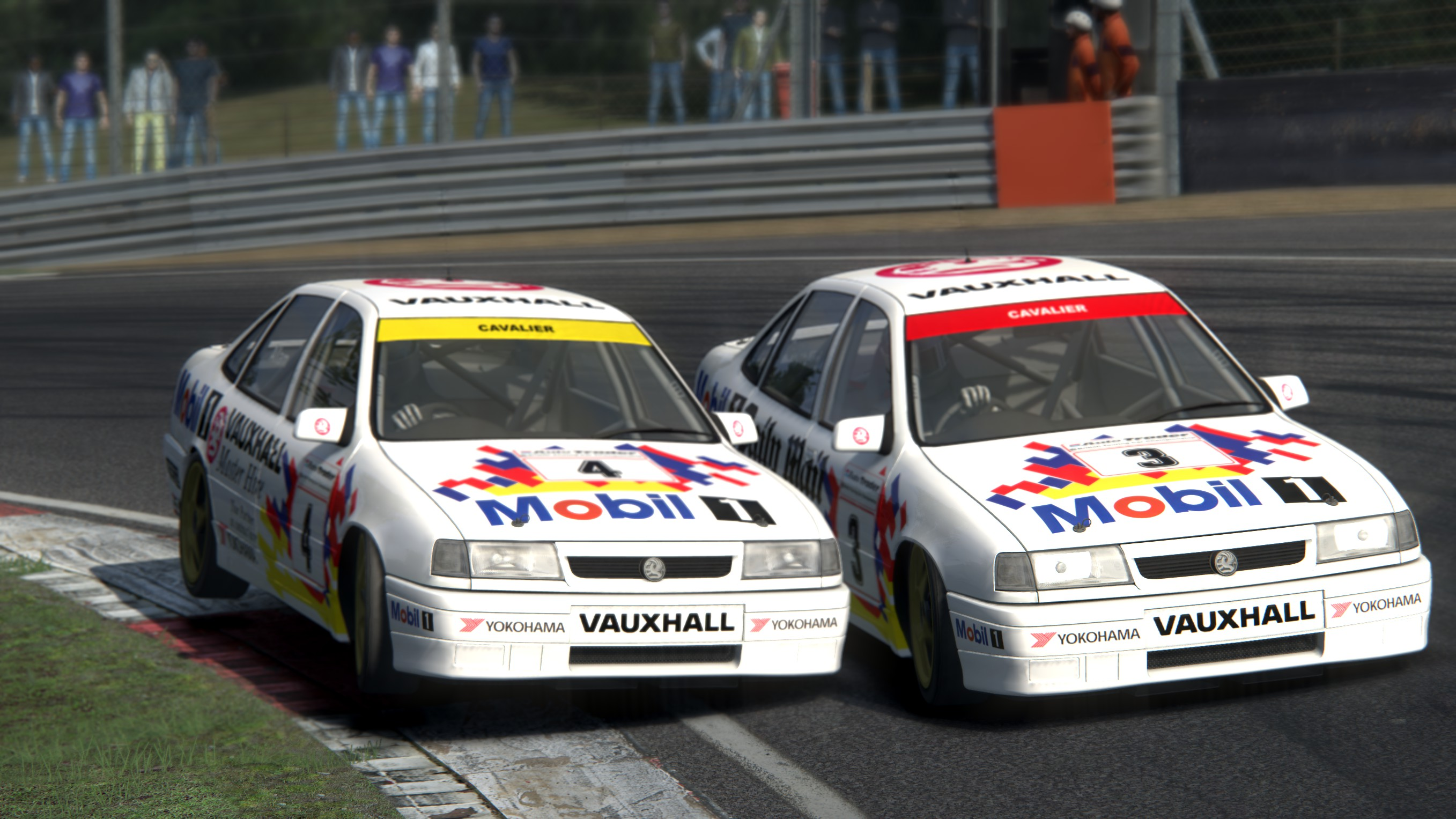 Released Vauxhall Cavalier Btcc 1993 For Assetto Corsa