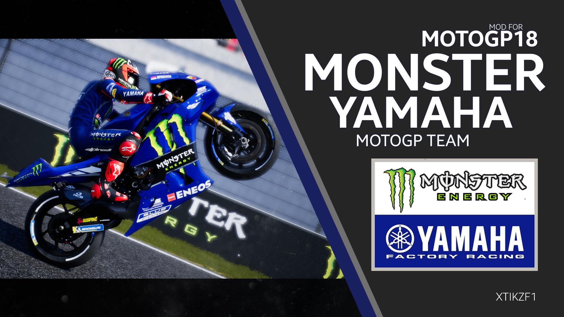 MONSTER YAMAHA 2019 TEAM MOD | RaceDepartment