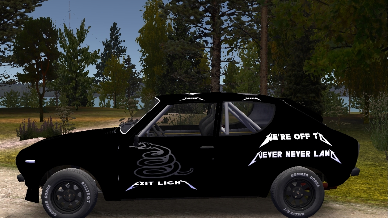 Metallica Black Album Skin For My Summer Car Racedepartment