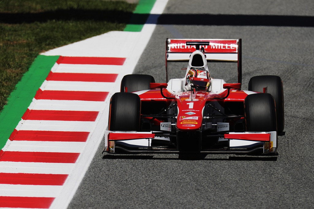 Charles Leclrec Sauber FP1 Drives.jpg