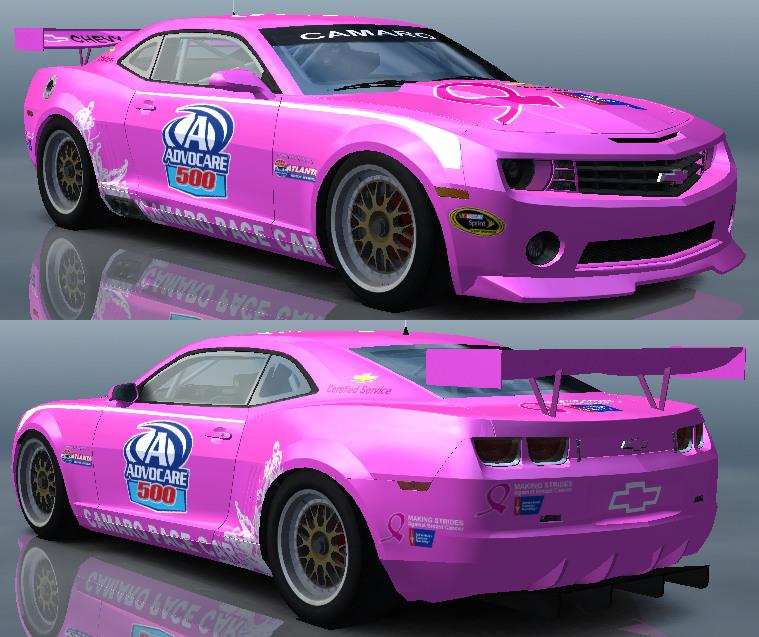 Chevrolet Camaro Racer 2009 - PACE CAR 2011.jpg