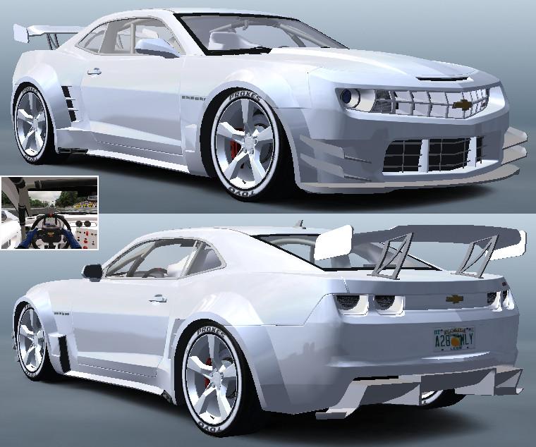 Chevrolet Camaro SS II - Skins Pack_WHITE.jpg