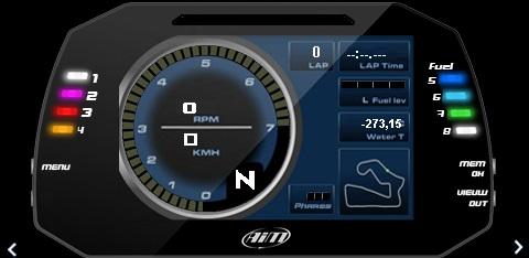 Dash Sim Monitor skins | RaceDepartment - Latest Formula 1