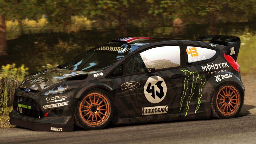 Hoonigan Rally Edition Ken Block Ford Fiesta Rs Rally 2