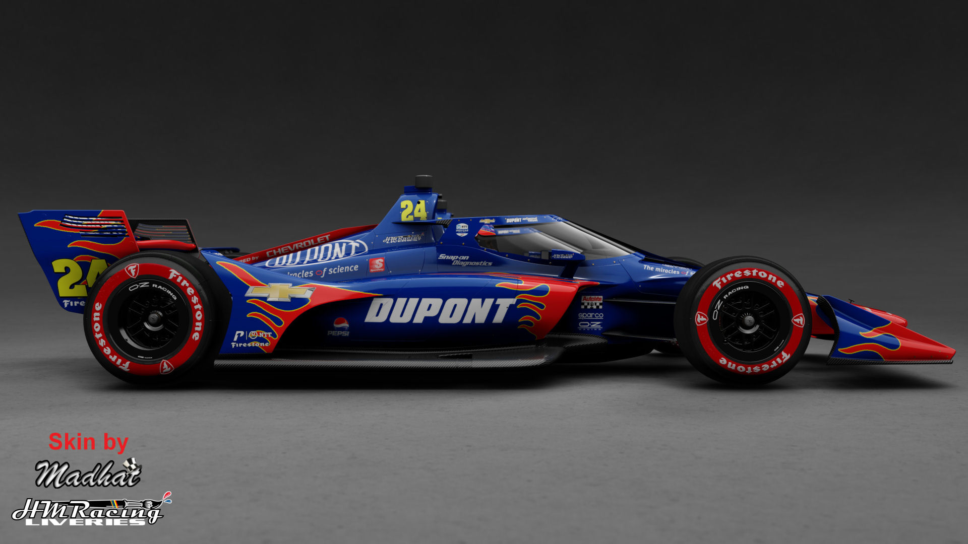 DU PONT Jeff Gordon 24 IndyCar Madhat HMRacing Liveries 02.jpg