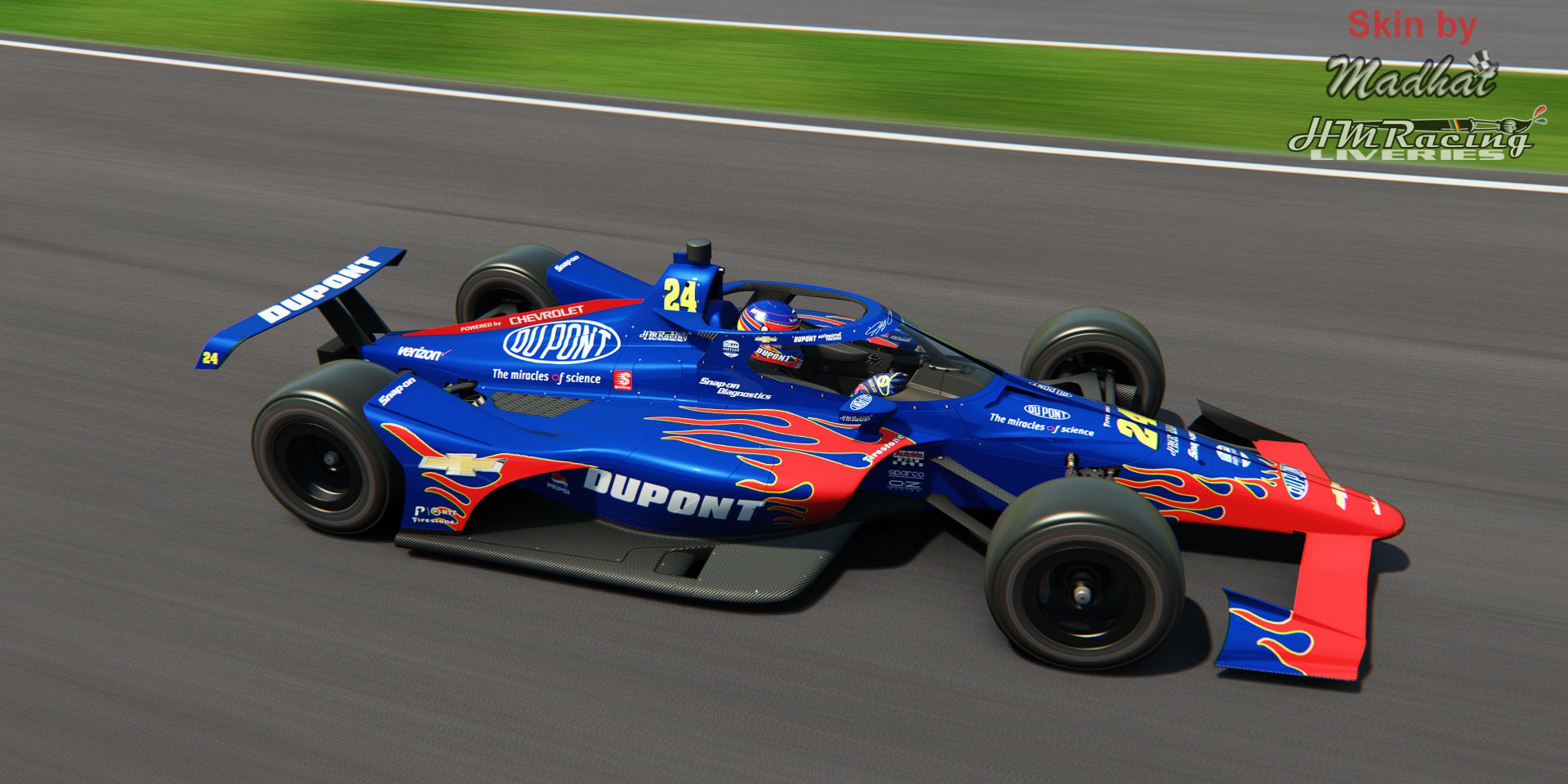 DU PONT Jeff Gordon 24 IndyCar Madhat HMRacing Liveries 05.jpg