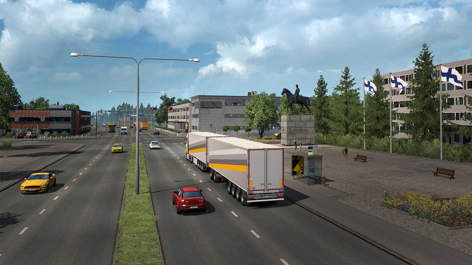 ETS2: New Finland Expansion Previews | RaceDepartment