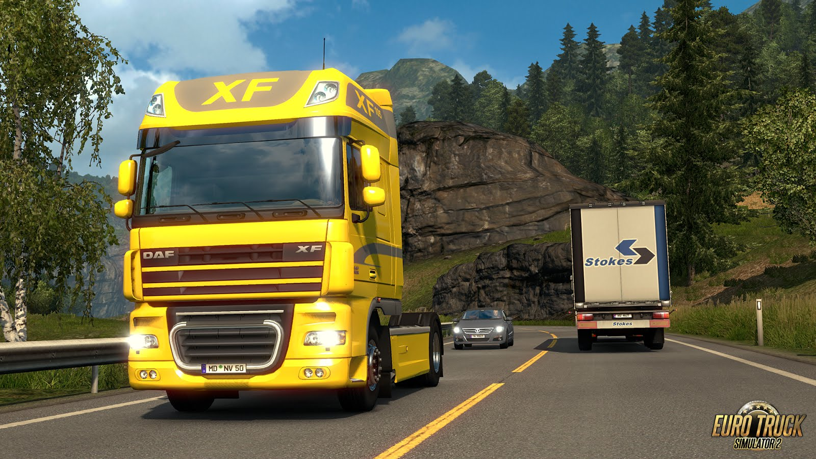 European Truck Simulator: DAF XF 105 Update | RaceDepartment