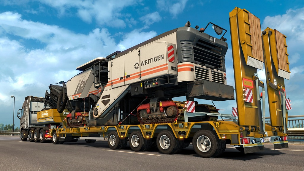 how to get heavy load on eurotruck