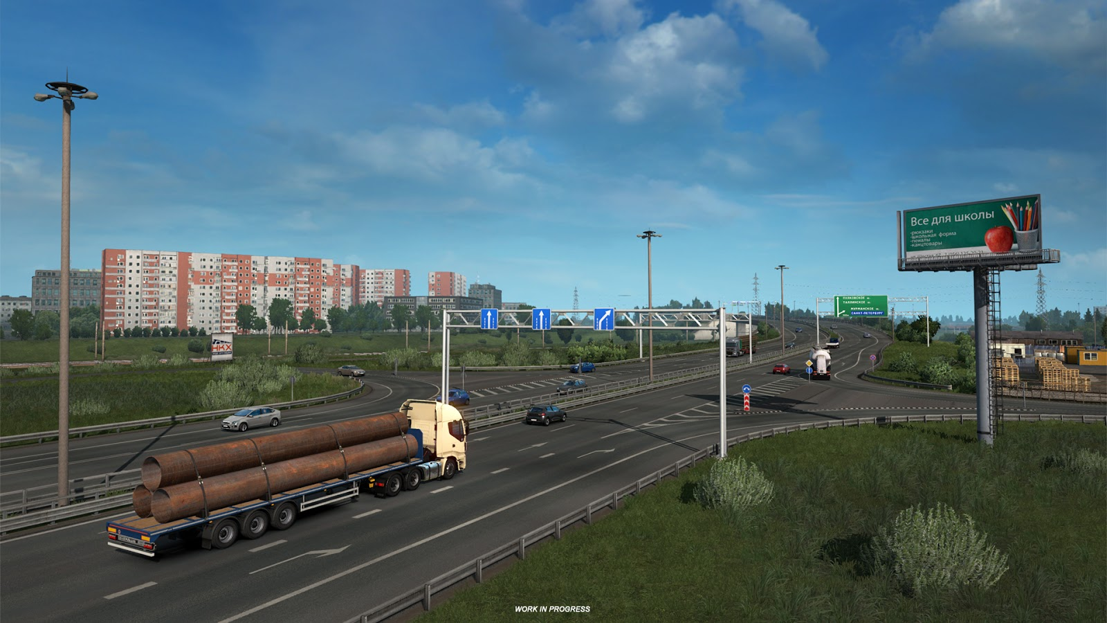 ETS2 'Beyond the Baltic Sea' DLC Images Revealed