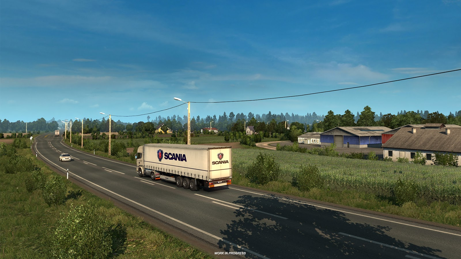 Beyond the Baltic Sea' ETS2 Map Expansion Previews Revealed