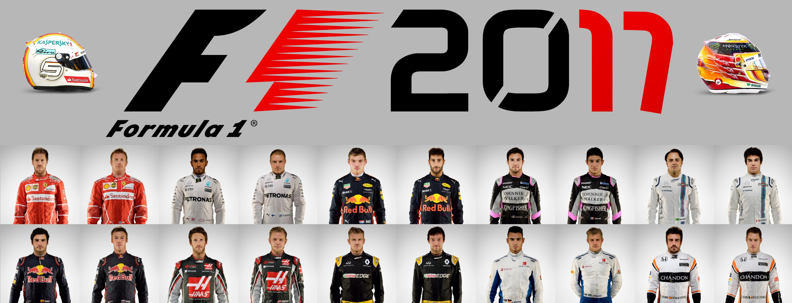 f1 2017 drivers photos helmets livery pics racedepartment. Black Bedroom Furniture Sets. Home Design Ideas