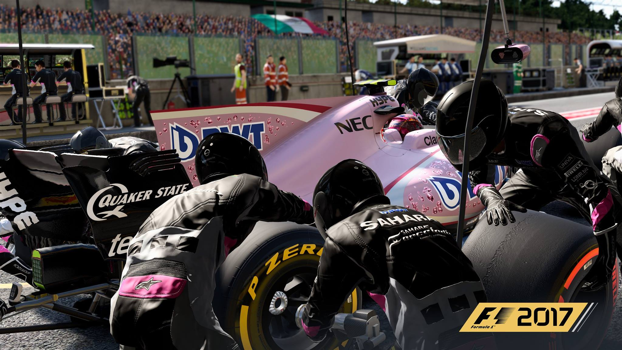 pretty in pink more f1 2017 preview images released racedepartment. Black Bedroom Furniture Sets. Home Design Ideas