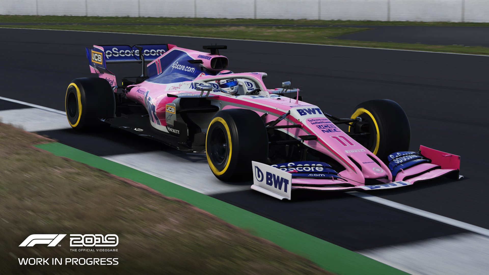 F1 2019: Motion Platforms and DD Wheels Supported - Full