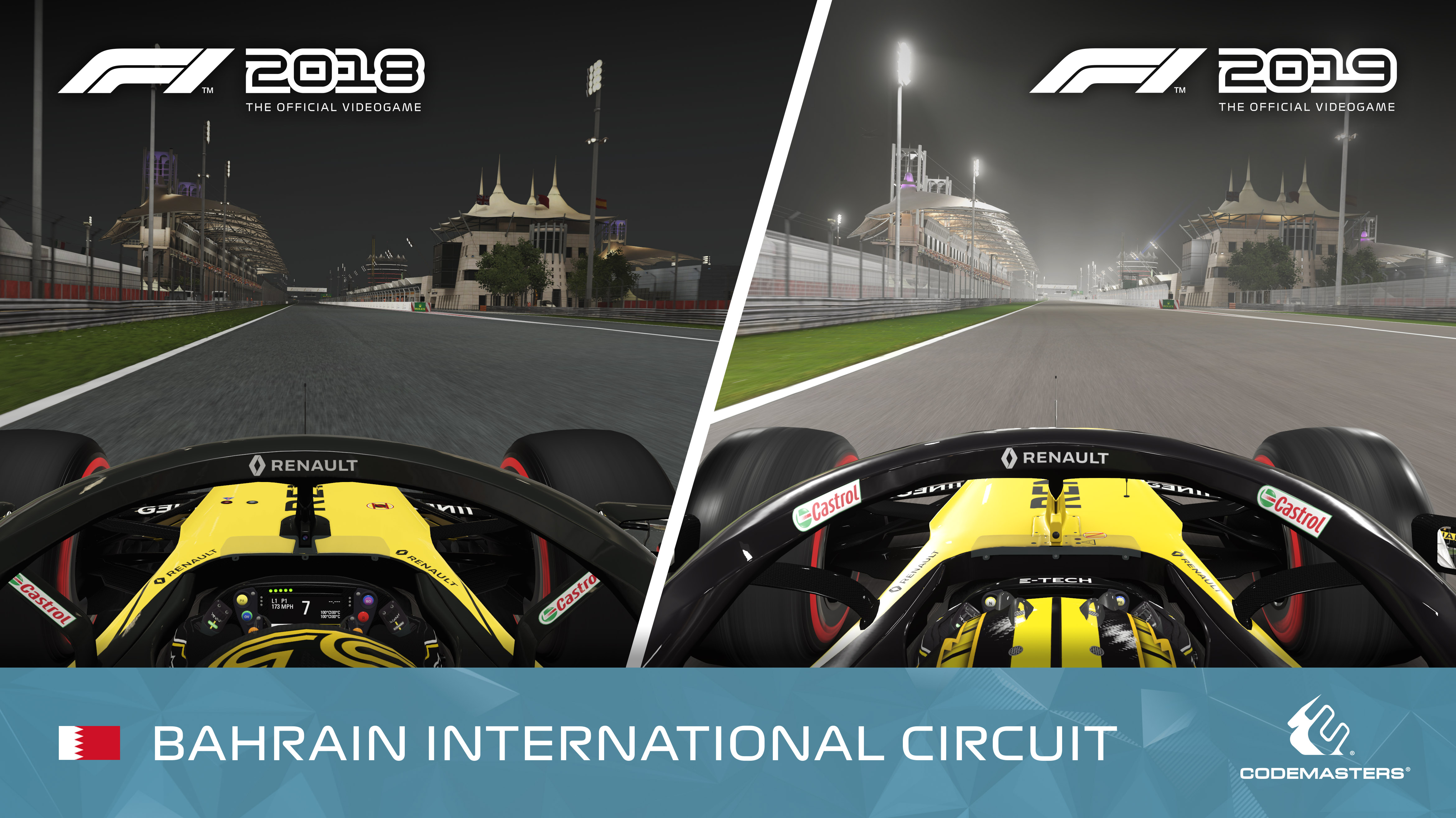 F1 2019: Lighting Improvement Preview Images