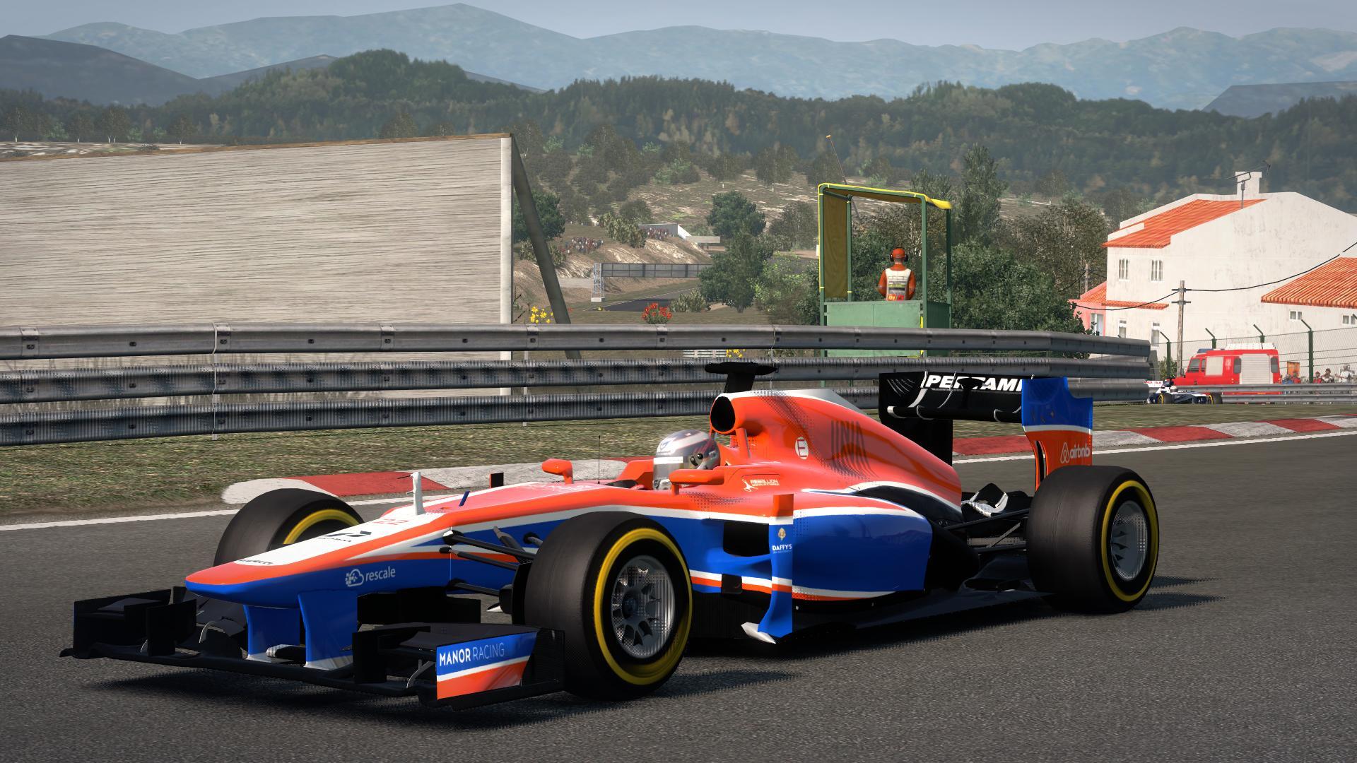 Marussia MR02 W/ MRT05 Colours