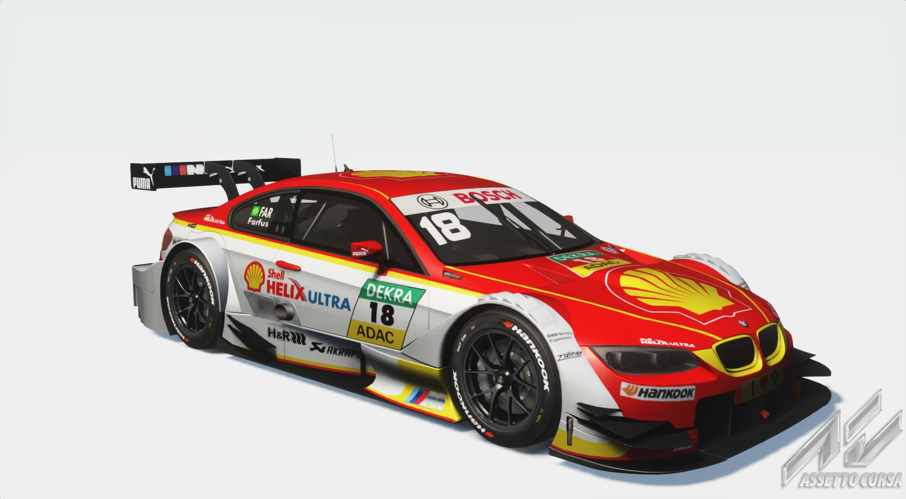 Farfus DTM BMW 2015 - Shell DTM BMW 2015 Skin | RaceDepartment