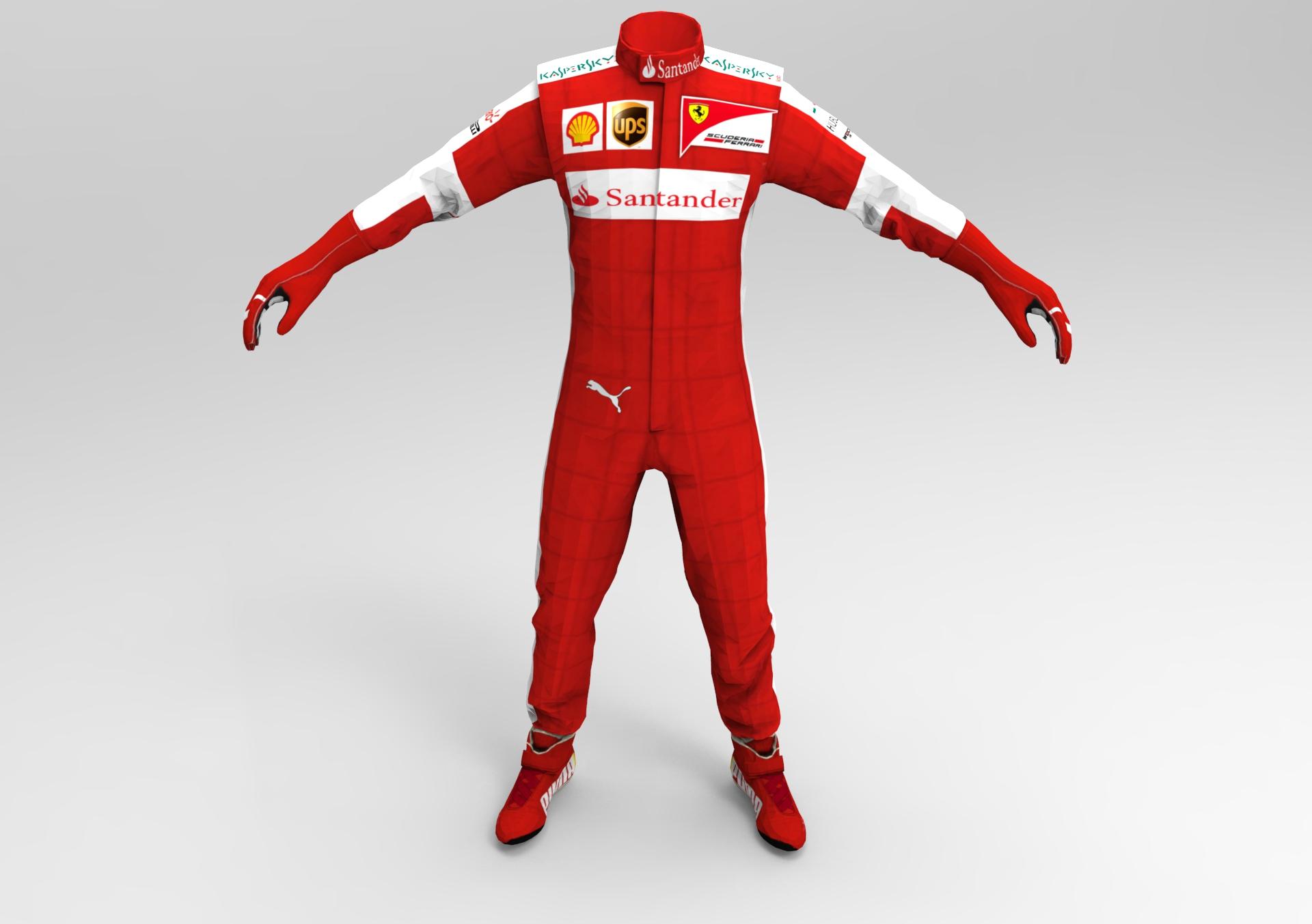 F1 2015 Ferrari Race Suit