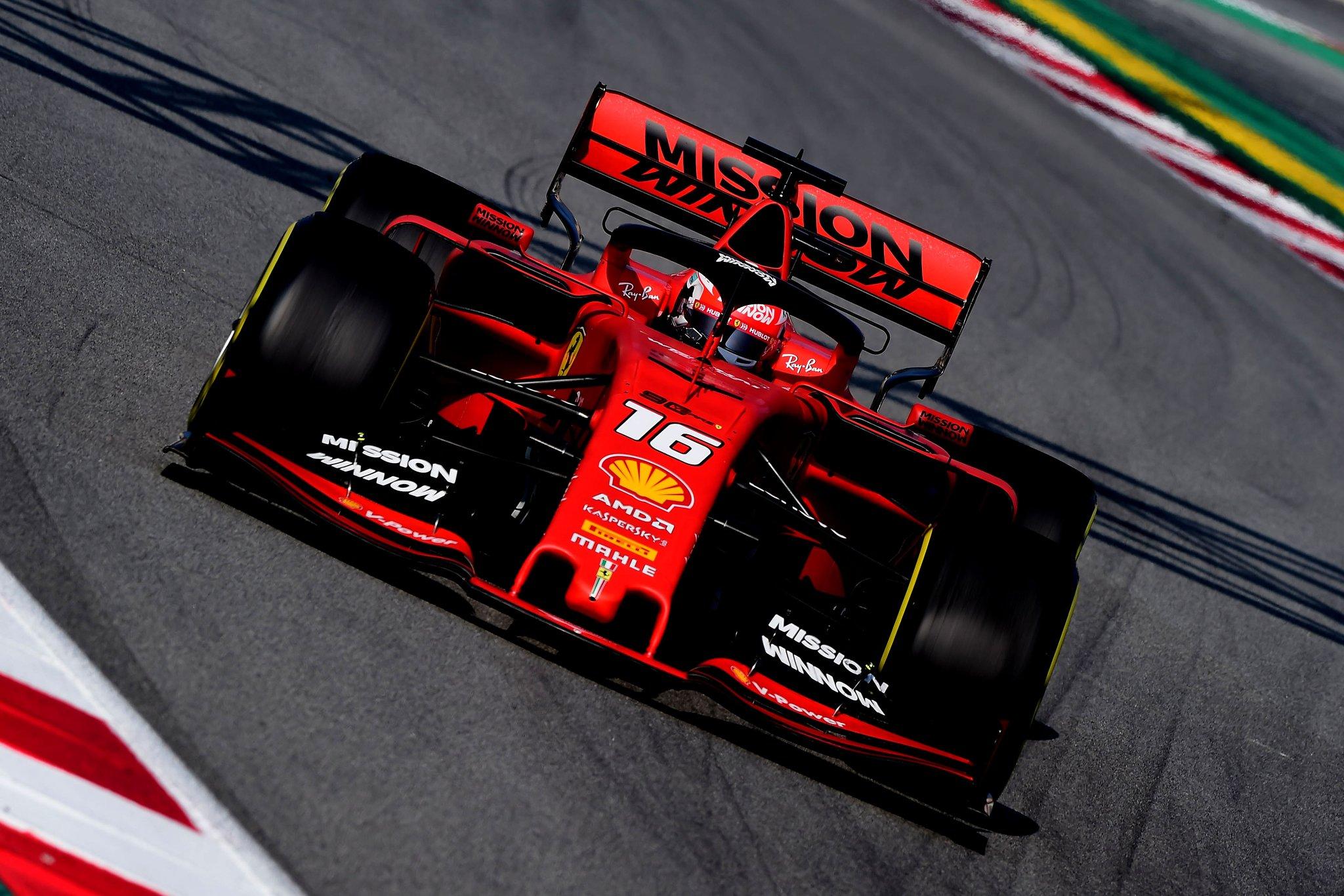 Ferrari hold advantage f1 2019.jpg