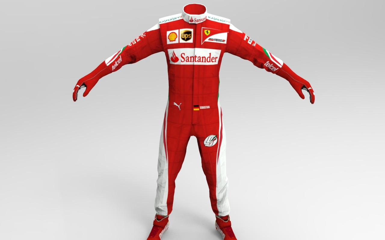 F1 2016 Ferrari Race Suit Racedepartment