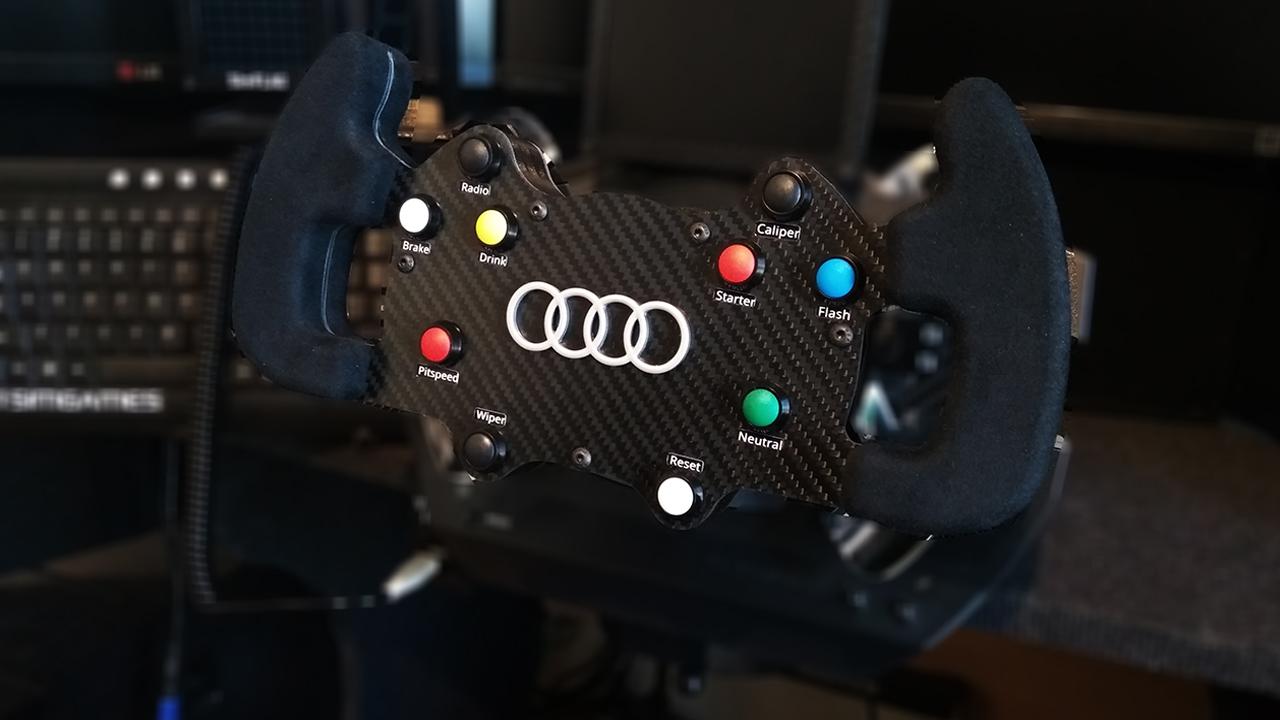 Audi DTM carbon fiber steering wheel  | RaceDepartment - Latest
