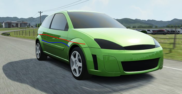 Cars Ford Focus Rs Mk1 Wip Page 3 Racedepartment Latest
