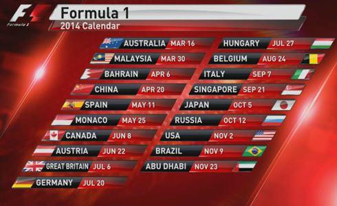 Formula 1 Calendario.Misc F1 2014 Sky Sports Styled Osd Page 3