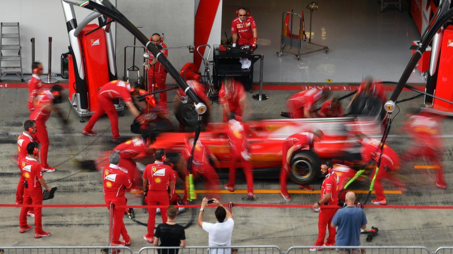 Formula One Austrian Grand Prix - Ferrari pitstop.jpg