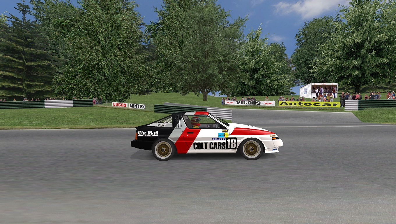 Mitsubishi Starion GT Legends | RaceDepartment - Latest