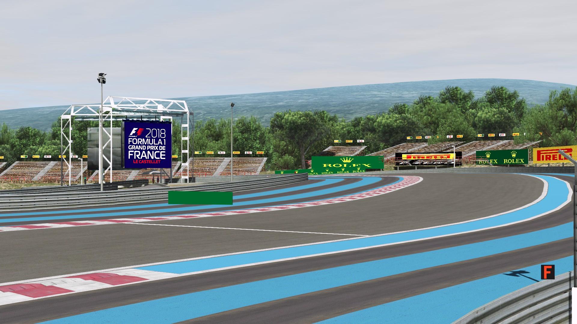 F1 Circuit Paul Ricard 2018