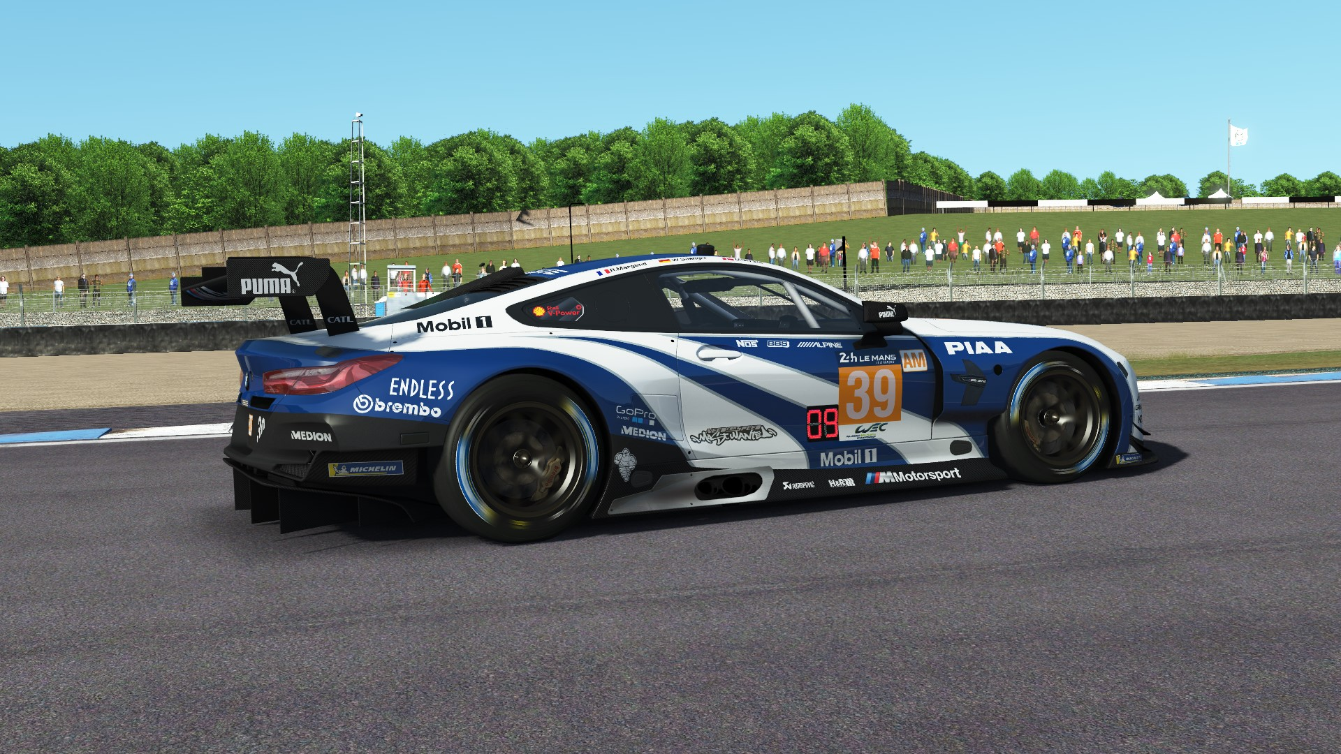 BMW M8 GTE Need For Speed livery | RaceDepartment - Latest Formula 1