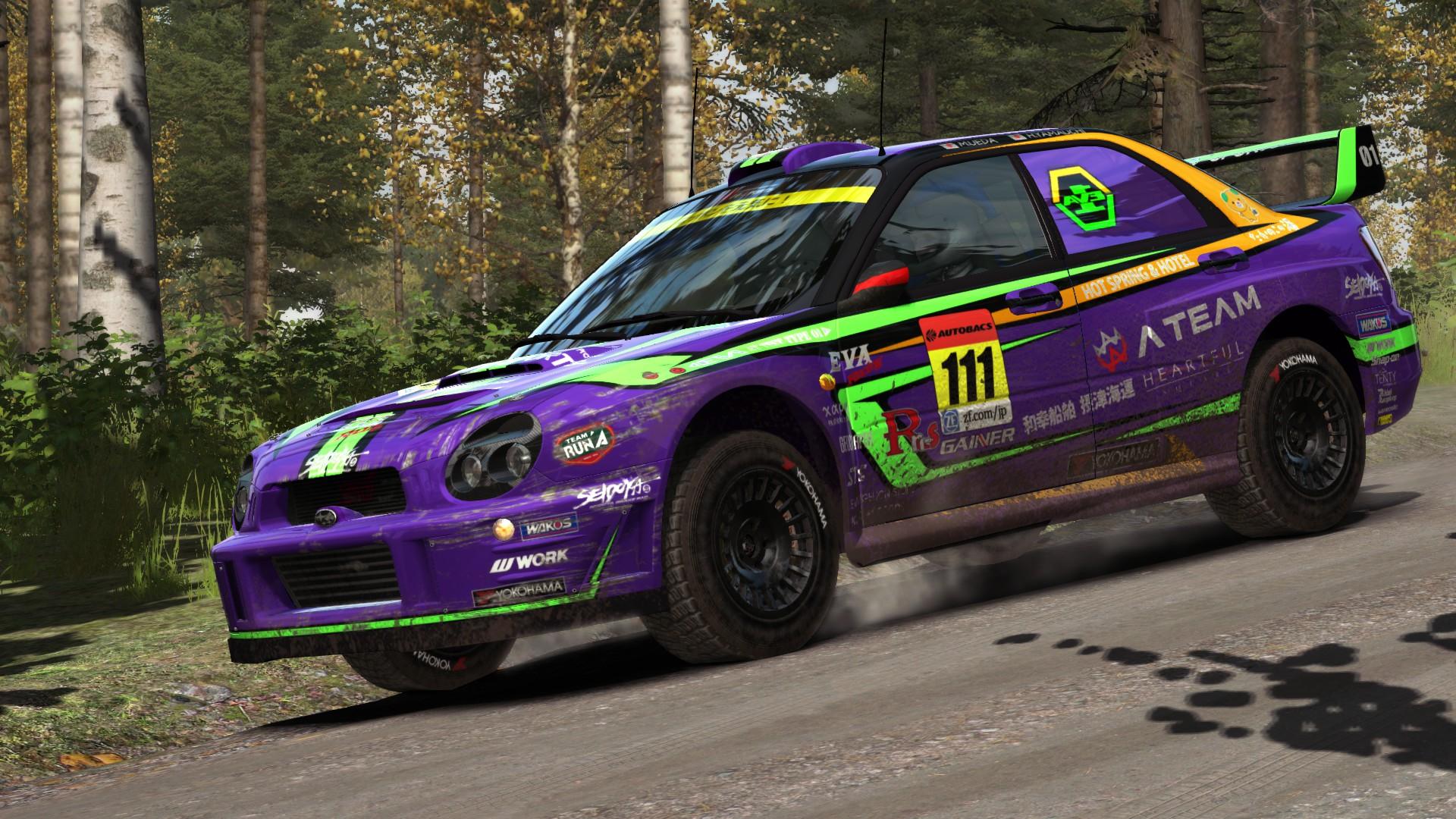 EVA Racing 2016 livery for SUBARU Impreza 2001 ...