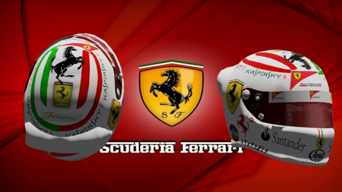 Scuderia ferrari special helmet hd racedepartment guysfinaly i finished my work on this helmethope you like it voltagebd Images