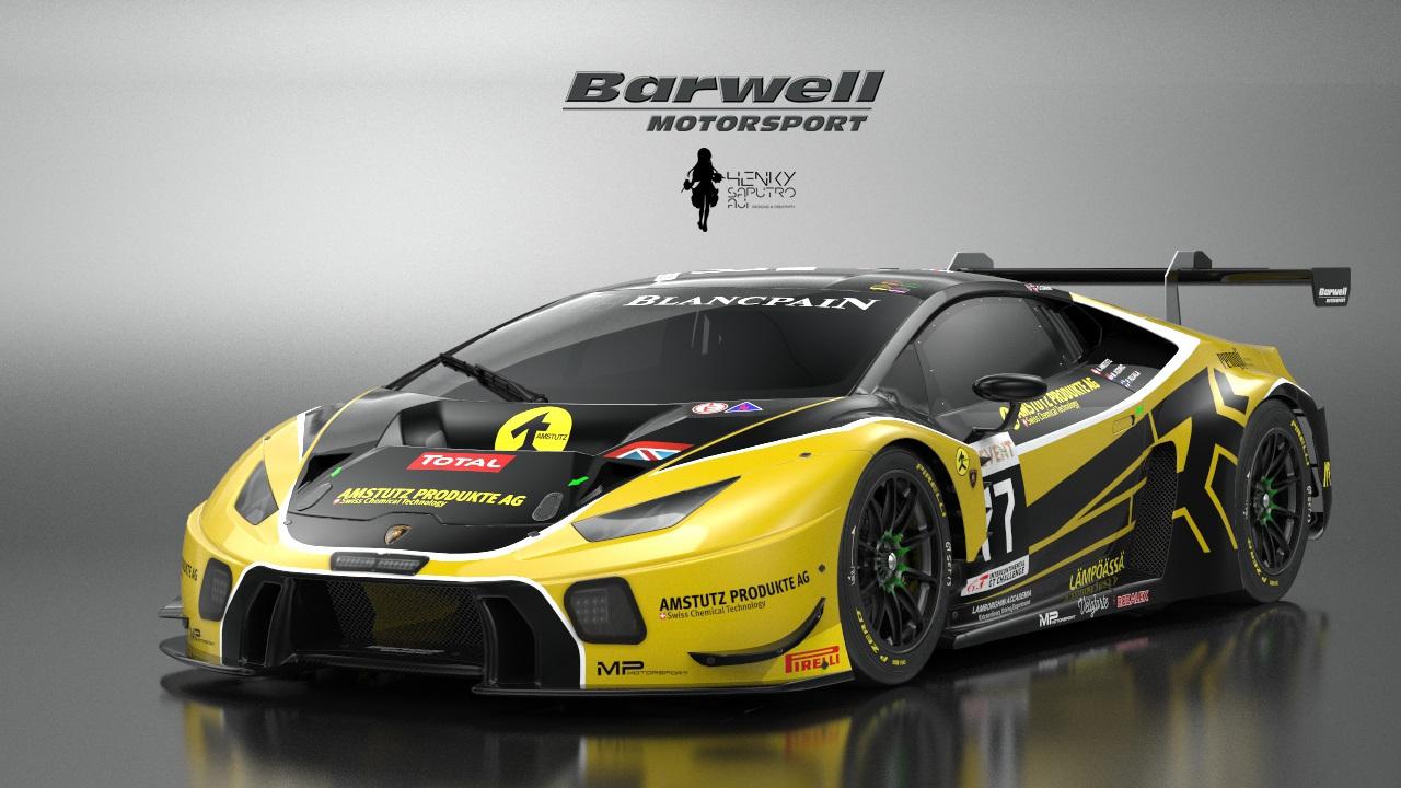 2017 barwell motorsport lamborghini huracan gt3 77 total 24h of spa racedepartment. Black Bedroom Furniture Sets. Home Design Ideas