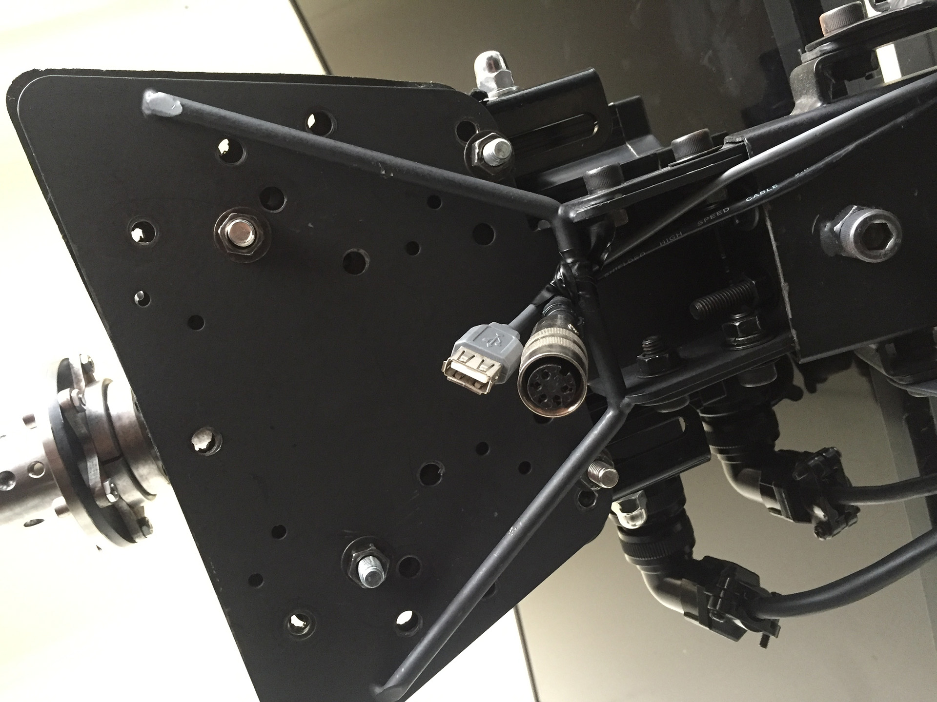 Project 8020 Rig with Tactile from Obutto Revolution