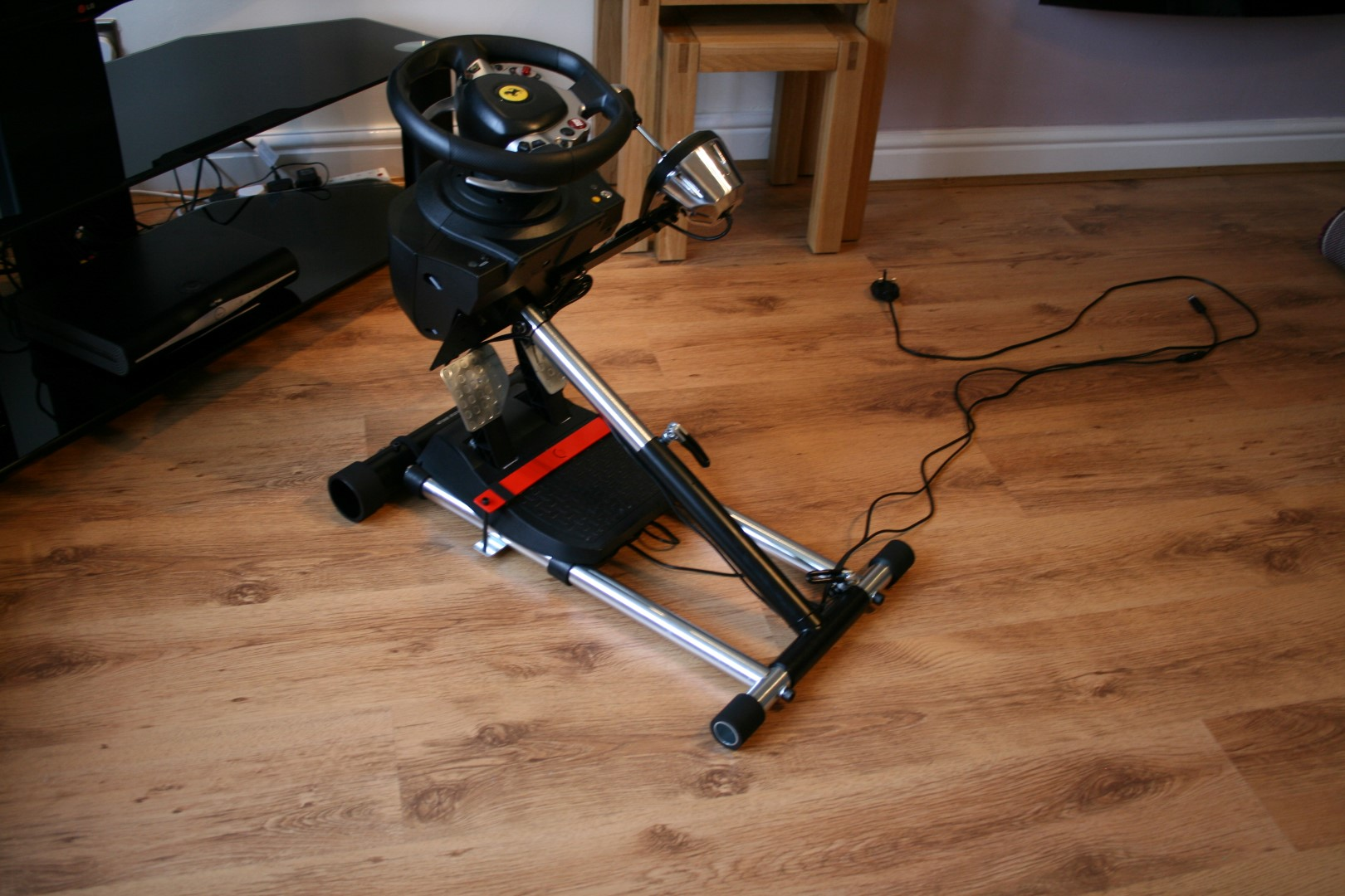 Review Wheel Stand Pro Deluxe V2 Racedepartment