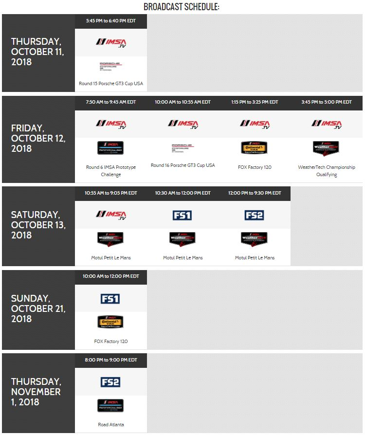 IMSA Petit Le Mans Broadcast Schedule.JPG
