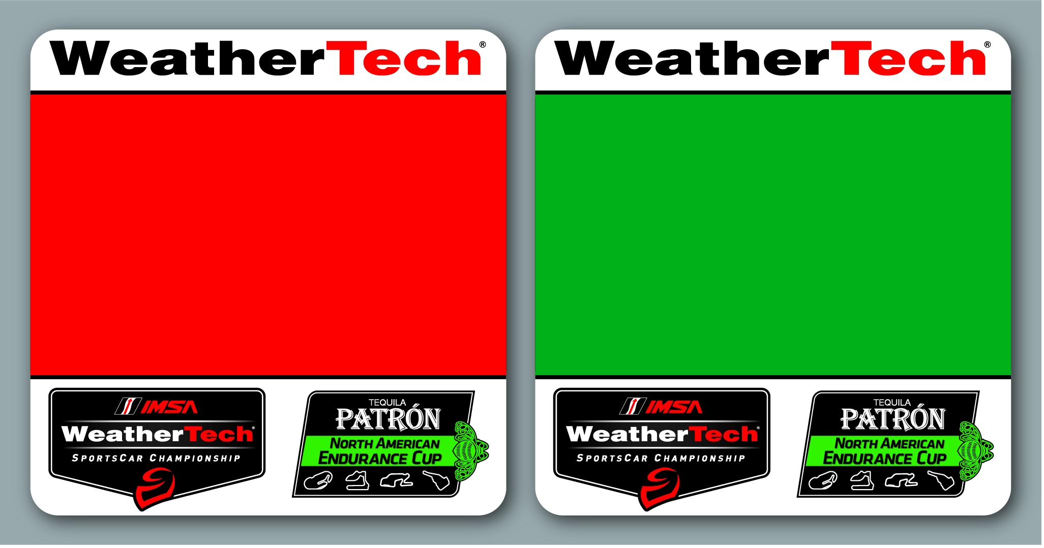 resource imsa weathertech number panels for p gtlm gtd