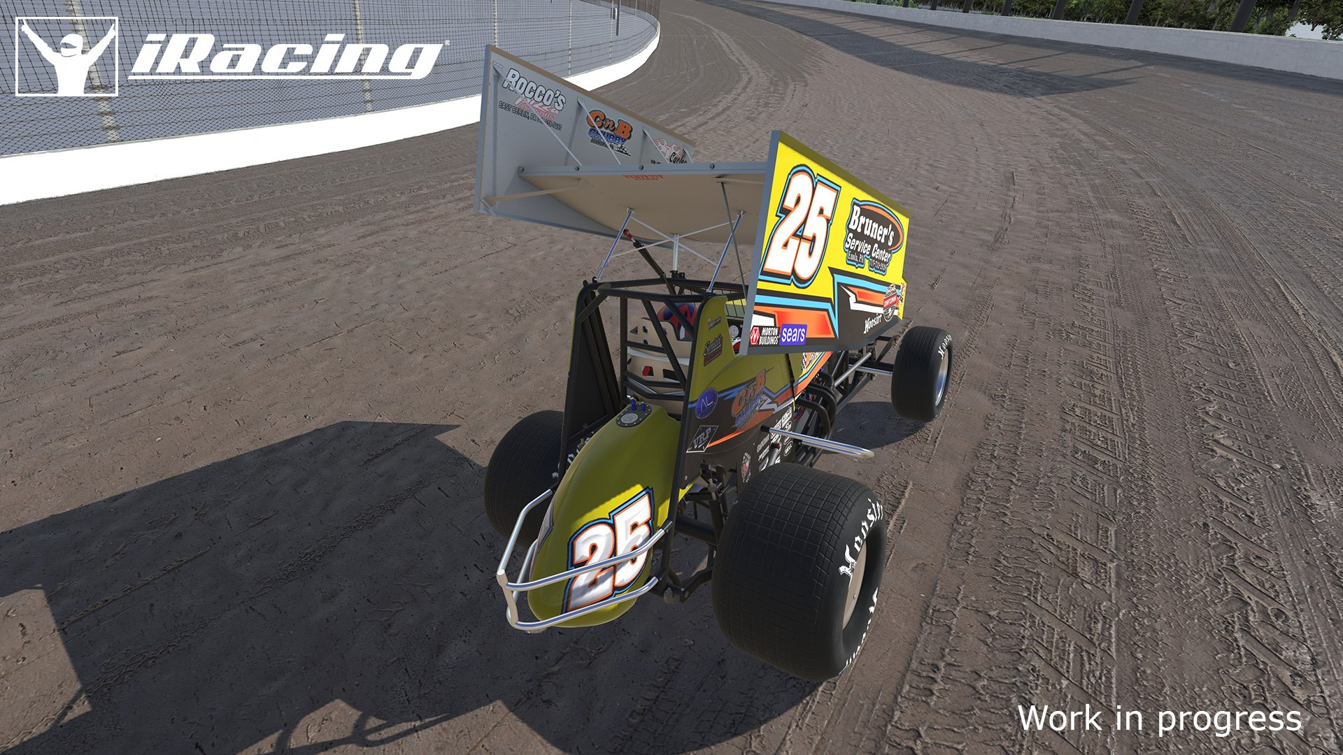 iRacing First Look at Dirt Sprint Cars in Game