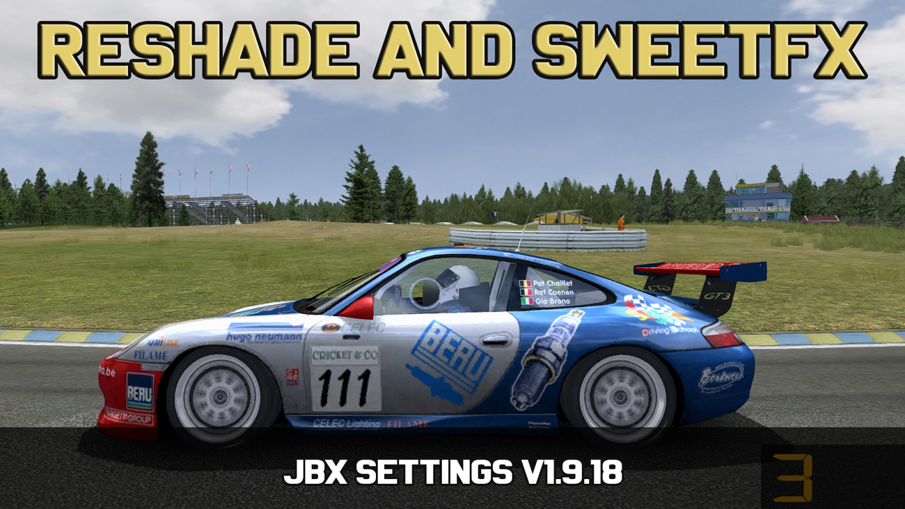 JBX Settings - Reshade and SweetFX | RaceDepartment - Latest