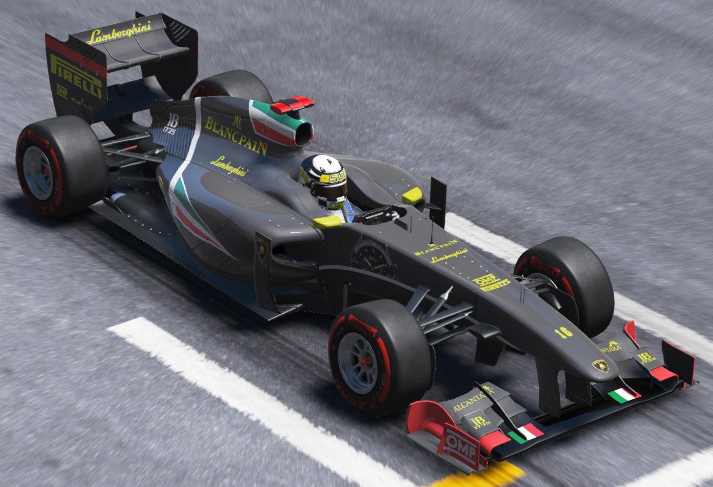 Formula A Lamborghini F1 Team Racedepartment Latest Formula 1