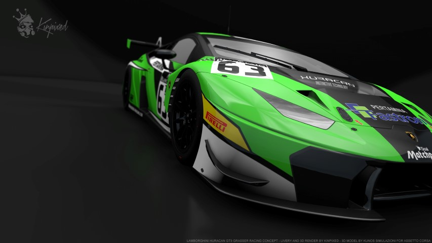 lamborghini huracan gt3 grasser racing concept 63 by kinpixed racedepartment. Black Bedroom Furniture Sets. Home Design Ideas