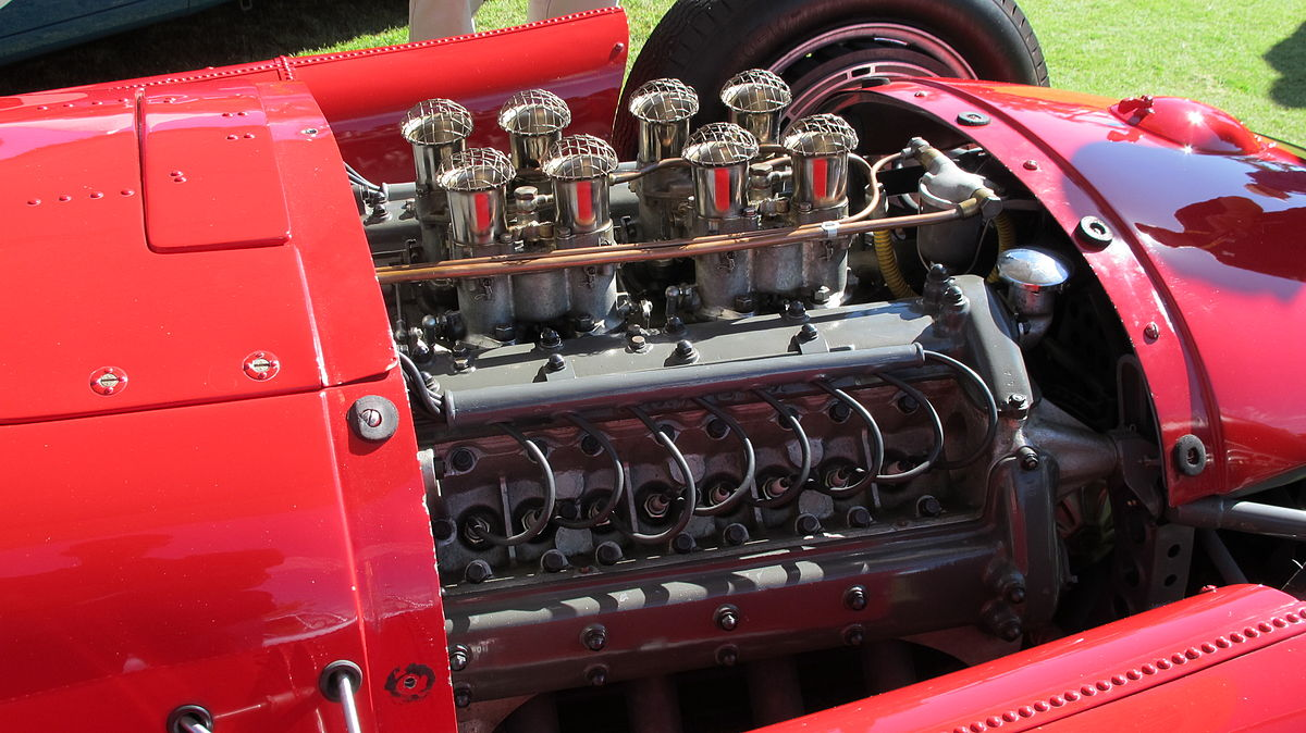 Lancia - Ferrari D50 Engine.JPG