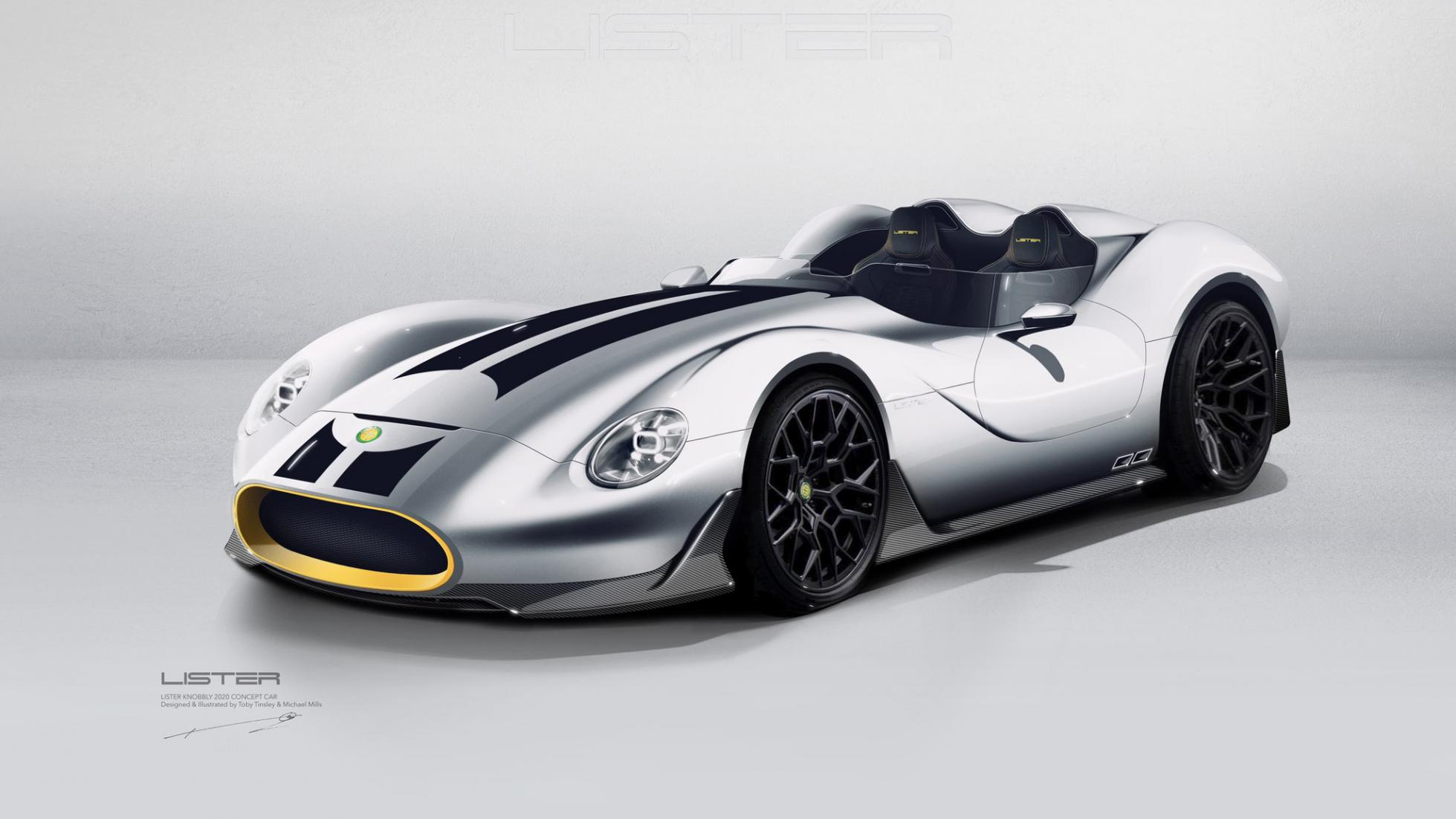 Wow    Lister Reveal 'Knobbly' Remake | RaceDepartment