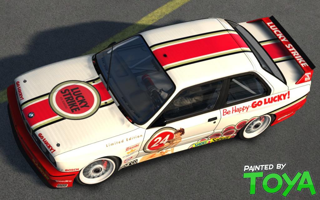 Lucky Strike Bmw M3 E30 Dtm Racedepartment